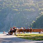 Sobre el lago by Adrian Lasso