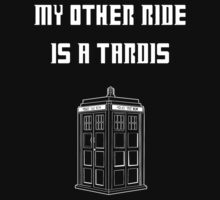 My Other Ride Is a Tardis (White Version) by Tlasan