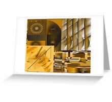 Energizing Collage Greeting Card