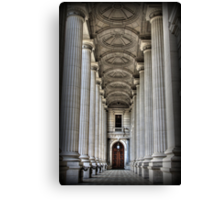 Pillars of STATE Canvas Print