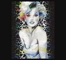 Marilyn Monroe 3D by Rebel88