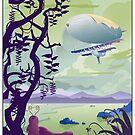 Venus By Air Travel Poster by stevethomasart