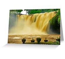 """""""A Torrent In Dreamland"""" Greeting Card"""