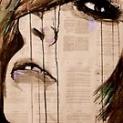 portrait with geometry by Loui  Jover