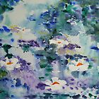 Waterlilies II by  Pauline Wherrell