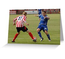 Witton Albion v Macclesfield Town Greeting Card