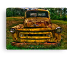 Just Call me RUSTY - Bell's Line Of Road, Kurrajong, NSW - The HDR Experience Canvas Print