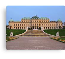 Belvedere Palace in Vienna Canvas Print