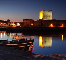 Carrickfergus Castle, N.Ireland.  by Fred Taylor