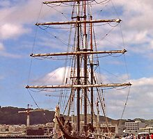 Tall Ship by AnnDixon