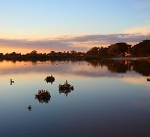 Tooradin Sunset by Jim Worrall