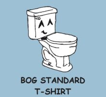 The bog standard T-shirt by Zozzy-zebra