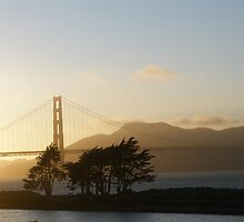 Sunset in San Francisco by jench32