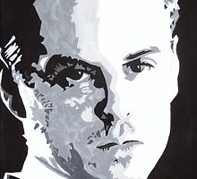 Jim Moriarty Painting by Bodie Lewis