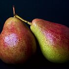 Blush Pears by Ellesscee