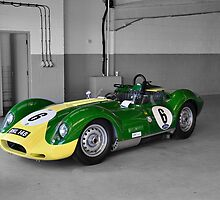 Lister Race Car by Tony Dewey