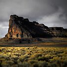 Fort Rock Glow by Charles &amp; Patricia   Harkins ~ Picture Oregon