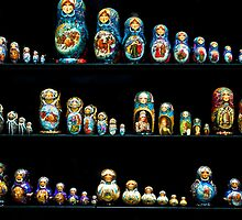 Matryoshka dolls by eddiechui
