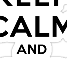Keep Calm and Adore Kol From Vampire Diaries LS Sticker