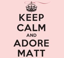 Keep Calm and Adore Matt From Vampire Diaries LS by rachaelroyalty