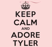 Keep Calm and Adore Tyler From Vampire Diaries LS by rachaelroyalty