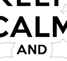 Keep Calm and Adore Tyler From Vampire Diaries LS Sticker