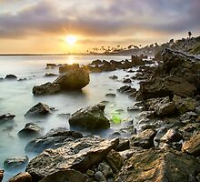 Sunset Cali by jswolfphoto