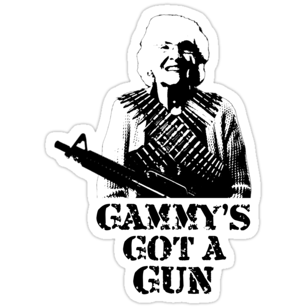Gammy's Got A Gun by AlyssaSbisa