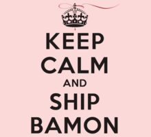 Keep Calm and SHIP Bamon (Vampire Diaries) LS by rachaelroyalty