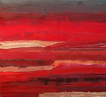 Red Interior by Bernadette Smith by smithrankenART