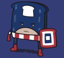 Captain American Bread by Eozen