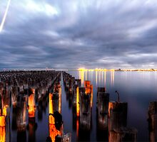 Princes pier by Damian Morphou
