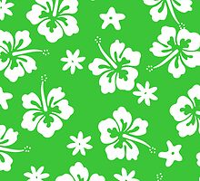 Green Tahitian Case by jean-louis bouzou