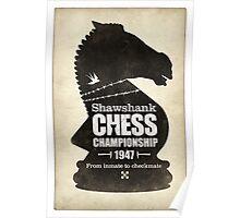 Shawshank Chess Comp Poster