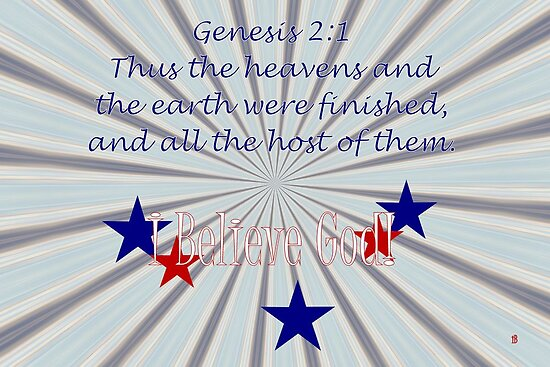 The Heavens and Earth Were Finished . . . by aprilann