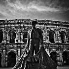 Arena at Nimes. by Tracy Le Blanc