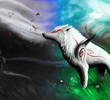 Okami- Long Road Ahead by Mikaishmu