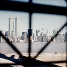 NYC from Ellis Island by steveschwarz