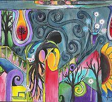Holding Trees Captive by F. Magdalene Austin