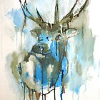 Blue Elk by James Kearns
