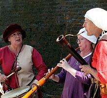 Medieval Female Musicians  by patjila