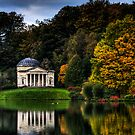 Stourhead Pantheon  by William Rottenburg