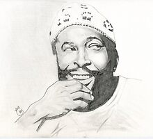 Marvin Gaye by karateman