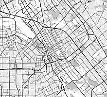 San Jose OpenStreetMap Poster by Traut1