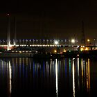 The lights of the Docklands by LadyFran