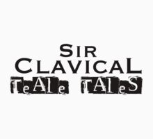 Teale Tales: Wyv Land of Magik Character T-Shirts - Sir Clavical by Tealetales