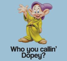 Who You Callin' Dopey - Snow White by gemzi-ox