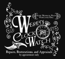 Wesen Clock and Watch Repair - Grimm by rexraygun