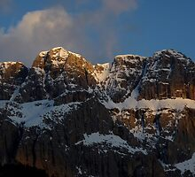 Dolomite Delight - Val Gardena, Italy by Kat Simmons