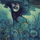 New Blue  No1 by Hannah Wheeler